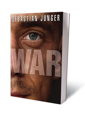 WAR , Sebastian Junger (May 11) A riveting account of the 14 months Junger ( The Perfect Storm ) spent embedded with a platoon in…