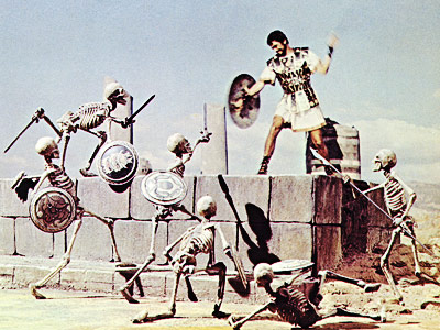 Ray Harryhausen — who worked with his mentor Willis O'Brien on Mighty Joe Young — oversaw the stop-motion creatures of a number of fantasy extravaganzas,…