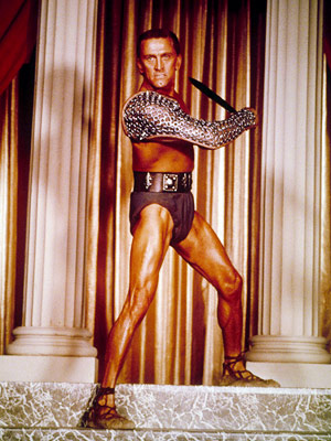 Spartacus, Kirk Douglas | Spartacus (1960) Directed by Stanley Kubrick, this legendary epic about a rebellious Roman slave (Kirk Douglas) is considered by some to be the gold standard…