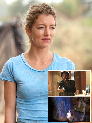 Lost, Cynthia Watros | ELIZABETH ''LIBBY'' SMITH (CYNTHIA WATROS) When: Season 2, episode 20, ''Two for the Road'' How: Talk about wrong place, wrong time. Only wanting to retrieve…