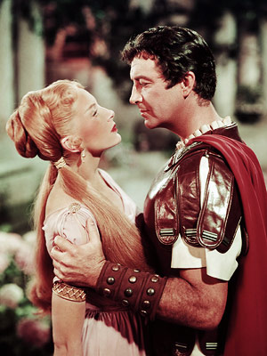 Quo Vadis | Quo Vadis (1951) ''Three Years in the Making! Thousands in the Cast! Filmed in Rome!'' touts the tagline of this three-hour saga, which earned eight…