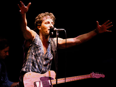 Bruce Springsteen | BRUCE SPRINGSTEEN'S ''BORN TO RUN'' '''Born to Run.' Accept no substitutes. When they turn the house lights on for it, it's time for the Boss…