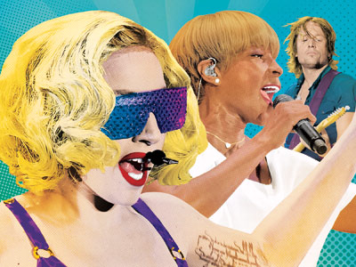 Lady Gaga, Mary J. Blige, ... | TV'S MORNING CONCERTS You know what summer means? Rockin' out early to morning-show concerts. We can't wait to rise and shine with Mary J. Blige…