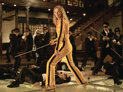 Kill Bill -- Vol. 1, Uma Thurman | THE BRIDE (UMA THURMAN) Most Badass Moment: In one of the most eye-popping action sequences ever, Thurman's vengeful assassin fights the Crazy 88, a Tokyo…