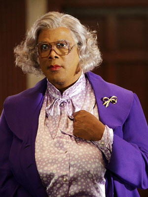 Tyler Perry's Madea Goes to Jail, Tyler Perry | MADEA SIMMONS (TYLER PERRY) Most Badass Moment: In Diary of a Mad Black Woman , Madea demands that her granddaughter's cheating husband give up half…