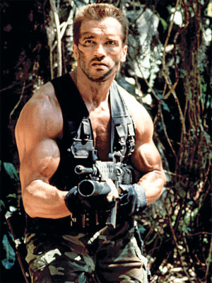 Predator, Arnold Schwarzenegger | PREDATOR: ULTIMATE HUNTER EDITION Two future governors (Jesse Ventura and Ah-nuld) take on an alien using an arsenal of guns, knives, and one-liners in the…