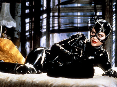 Batman Returns, Michelle Pfeiffer | MICHELLE PFEIFFER as Catwoman BATMAN RETURNS Ultimate Hottie Moment: After fighting the Caped Crusader on the rooftops of Gotham and pinning him down, she suddenly…