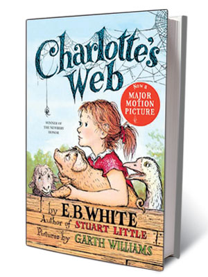 E.B. White   ''It is not often that someone comes along who is a true friend and a good writer. Charlotte was both.'' —E.B. White, Charlotte's Web (1952)
