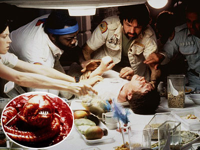 Alien, Ian Holm, ...   Directed by Ridley Scott WILLIAM FRIEDKIN SAYS: '' Alien was a big surprise to me. Usually a film that's set in the future doesn't contain…