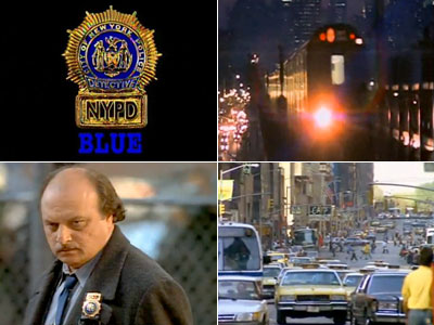 Created by Steven Bochco with theme music written by Mike Post, NYPD Blue came alive thanks to the handheld footage and the percussive theme's driving…
