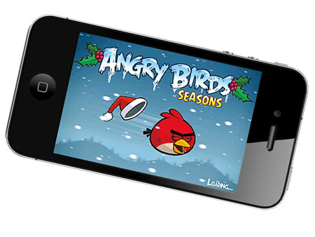 ANGRY BIRDS SEASON The latest edition of the addictive game unlocks a new level for each of the 25 days leading up to Christmas. (For…