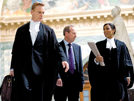 LAW & ORDER: UK The British crime-show spin-off follows the beloved American format with a twist (charming accents! barristers with wigs!). Thankfully, the familiar ''chung-chung''…