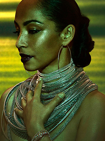 Sade gets two small nods for singles (''Soldier of Love'' and ''Babyfather'') in small R&B categories, but nowhere else.