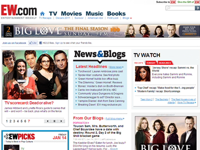 The other custom unit that HBO utilized was an OPA pushdown, which ran on our homepage.