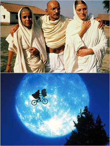 In one sense, you could say that the Academy's choice wasn't that far off: The picture that deserved to win — E.T. the Extra-Terrestrial —…