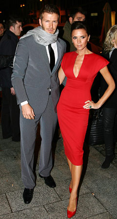 Victoria Beckham | Royal connection: Posh's hubby, soccer star David, met William while campaigning for England to host the World Cup. Why we're excited: Two words: eye candy.