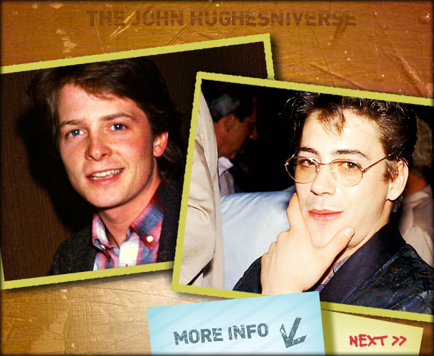 John Hughes | Fox was the first choice for Ringwald's geeky best friend, and the script originally called for her character and his to end up together. But…