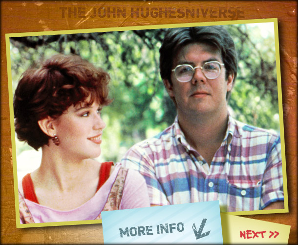 John Hughes | ''John was one of the most sensitive people I've ever known. It comes across in his movies. But when you're that sensitive, you are wounded…