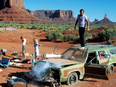 Chevy Chase, National Lampoon's Vacation | Whether you're a parent or a kid, this is probably the way you really remember the family road trip: as a Sisyphean obstacle course and…