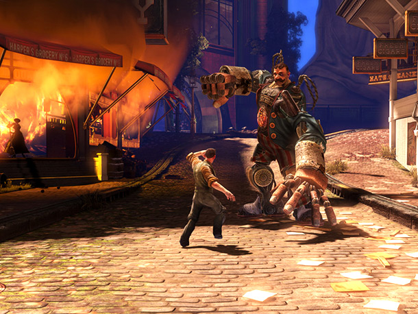 2K Games PS3, Xbox 360, PC The Game: The BioShock series moves above ground — way above ground. It's 1912 in the floating dystopian city…