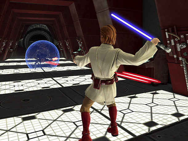 Microsoft Game Studios Xbox 360 The Game: For all of us with a pitiful midi-chlorian count, becoming a Jedi just got a little easier. Using…