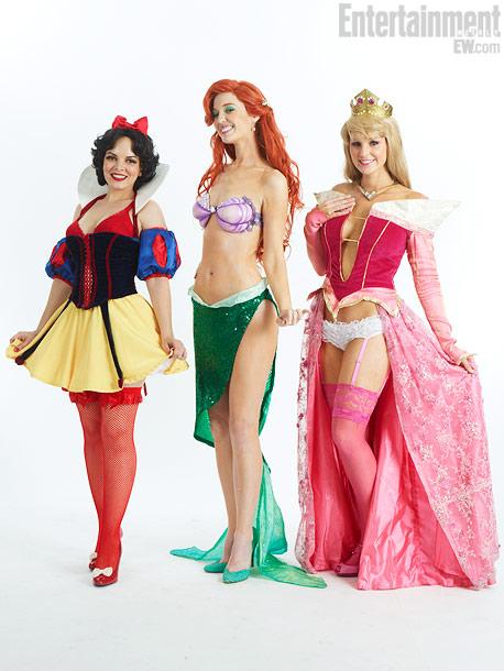 Heather Harris, Christy Marie, Kristin Erickson, Sexy Princesses