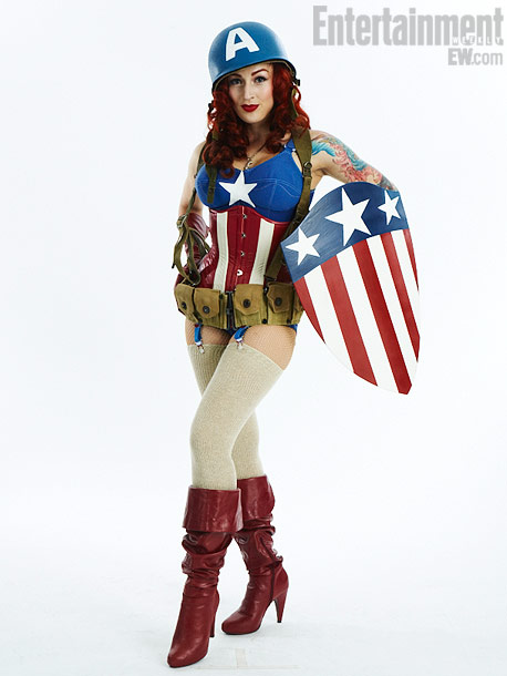 Stephanie Castro, Captain America