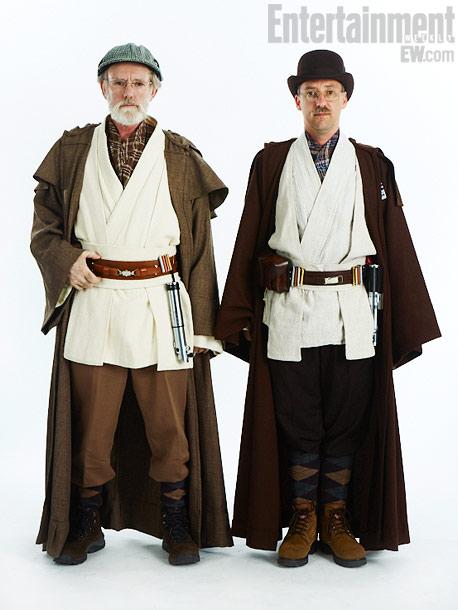 Barry Pike, Derek W. Mazer, Jedi Master Sherlock Holmes and Jedi Master Watson