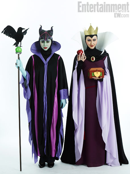 Dyanamaria Leifson and Rhonda Ibrahim, Maleficent and the Evil Queen
