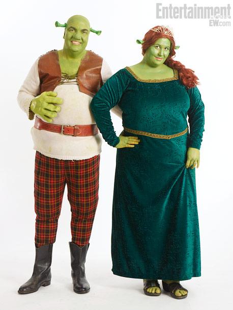 Jonathan Budd, Jennifer Budd, Shrek and Fiona
