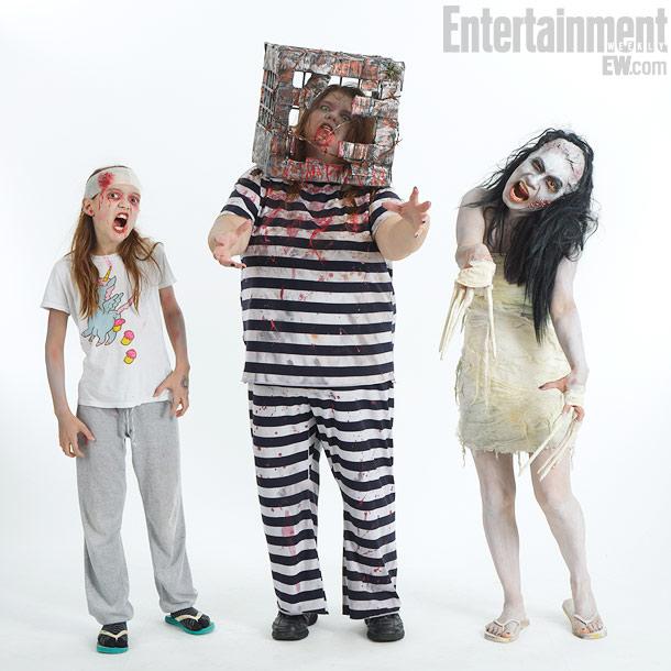 Mina Knapp-Castillo, Cynthia Lucia, Cher DeLacy, Zombies