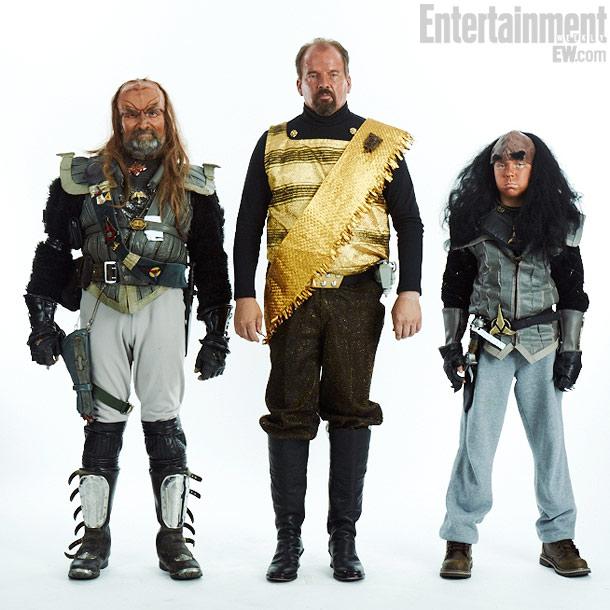 Brett and Soren Kenney, Dennis Hanon, Klingons