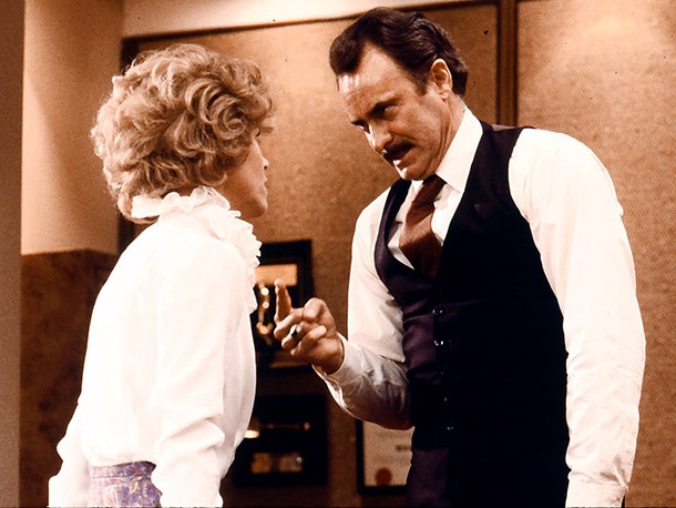 Jane Fonda, Dabney Coleman, ...   Why I'd quit: A woman can only take so much leering and pawing before she really is ready to plan a murder. — Abby West