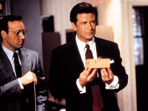 Glengarry Glen Ross   Why I'd quit: In all likelihood, Baldwin's hard-nosed, foul-mouthed über-salesman would fire me while I was still pondering the question. Also, as a caffeine lover…