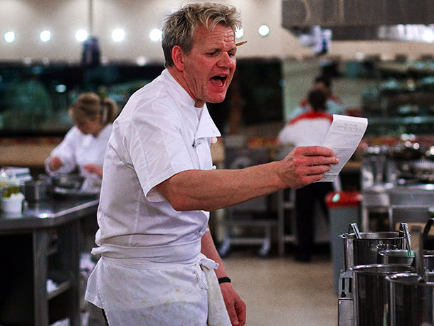 Hell's Kitchen   Why I'd quit: Nothing pairs with a nice risotto quite like an incessant string of profanity-laced insults. At least, that's how Hell's Kitchen chef Gordon…