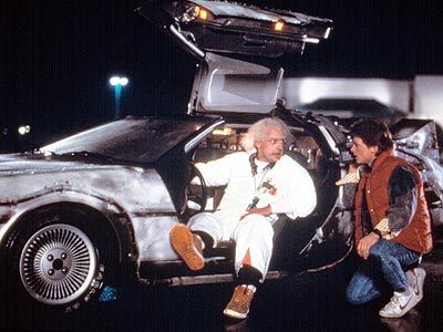 Michael J. Fox, Christopher Lloyd, ... | It's the only car that lets you go back in time, so you can see it for the first time over and over again. Plus,…