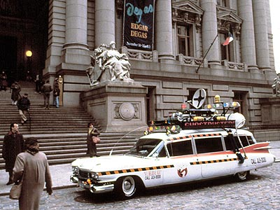 Ghostbusters | It looks like a hearse...which is good, since the Ghostbusters do all of their business with the dead. But it's got the best siren in…