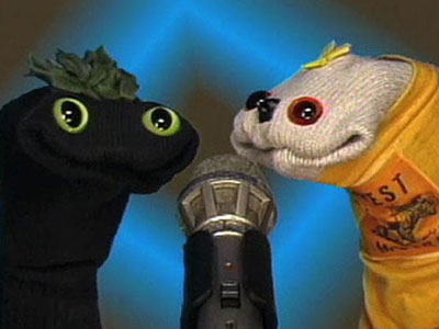 Like low-rent public access Muppets, Sifl and Olly were a pair of deadpan sock puppets who would crop up on MTV late at night to…