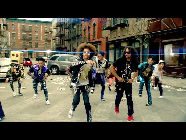 It has to be [LMFAO's] ''Party Rock Anthem.'' There were songs I liked better, but none that did a better job of getting into my…