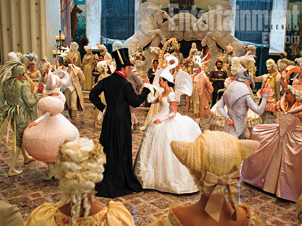 Armie Hammer | Snow sneaks into a costume ball to seek the prince's help in overthrowing the Queen. Luckily, he has a thing for girls in swan headdresses.
