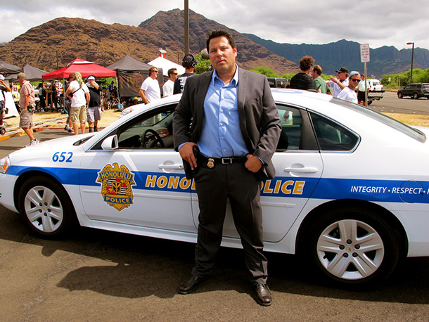 Hawaii Five-0, Greg Grunberg | ''This is sort of Agent Weiss meets Hawaii Five-0 . I've got that tough-guy stance.''