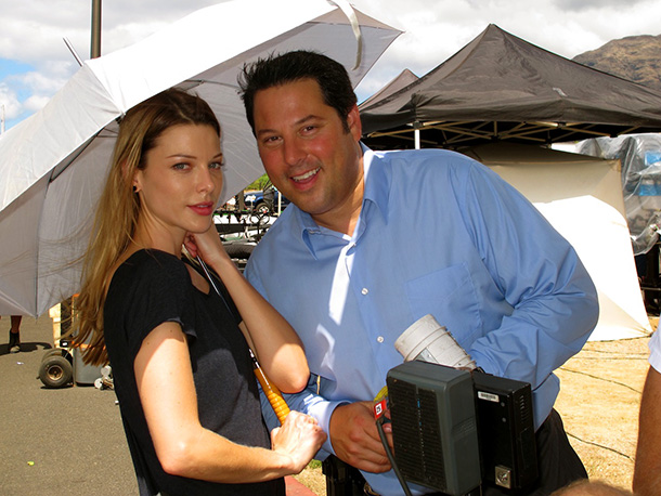 Hawaii Five-0, Greg Grunberg | ''She is amazing to work with,'' Grunberg says of Lauren German (Officer Lori Weston). ''We had a lot of great scenes together.''