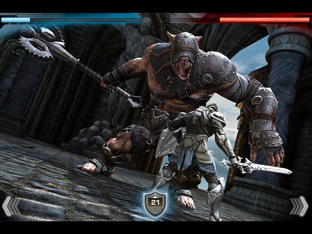 Why it stood out: Following the original hack-and-slash hit, this broadsword-swinging sequel not only raises the bar for portable touch gaming, but chucks it javelin-style…