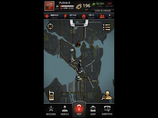 Why it stood out: Unlike the glut of copycat games that make trolling the Android Market a chore, this location-based crime sim stands out like…