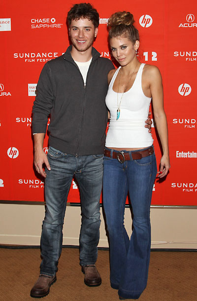 Jeremy Sumpter and AnnaLynne McCord