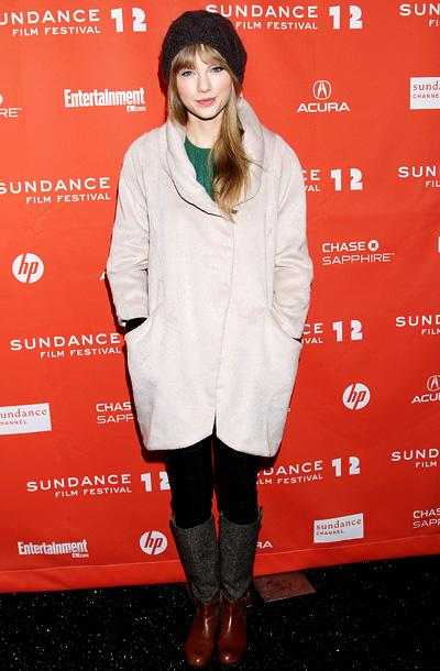 Taylor Swift, Sundance Film Festival 2012