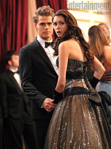 Nina Dobrev, Paul Wesley, ...   Pause as we appreciate Dobrev finally getting to wear a vintage gown as gorgeous as the numbers The CW dresses her in for those pre-season…