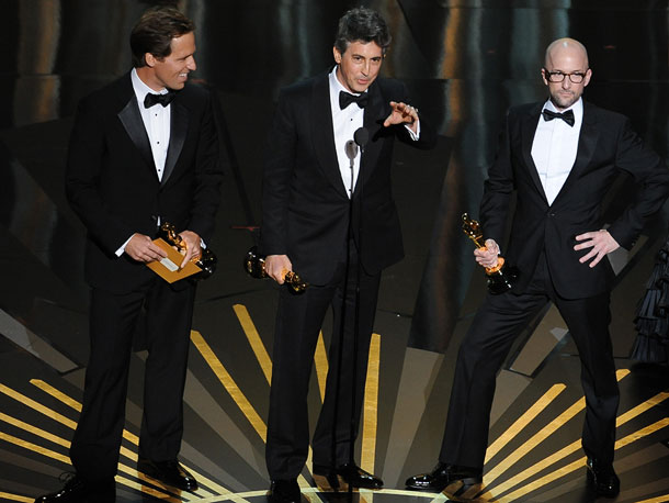 Alexander Payne, Oscars 2012, ...   After Alexander Payne thanked the usual suspects, he took a moment to dedicate his Best Adapted Screenplay Oscar to his mother, who was in attendance.…