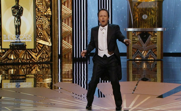 Billy Crystal, Oscars 2012   In his ninth hosting appearance, Billy Crystal mixed a little bit of the old with a little bit of the... older. There was a lot…