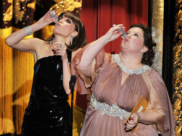 Rose Byrne, Melissa McCarthy, ...   Revisit more memorable moments from the 2012 Oscars.